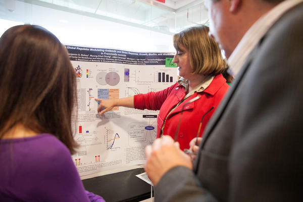 School of Systems Biology, College of Sciences, 2014 Spring Student Research Day.