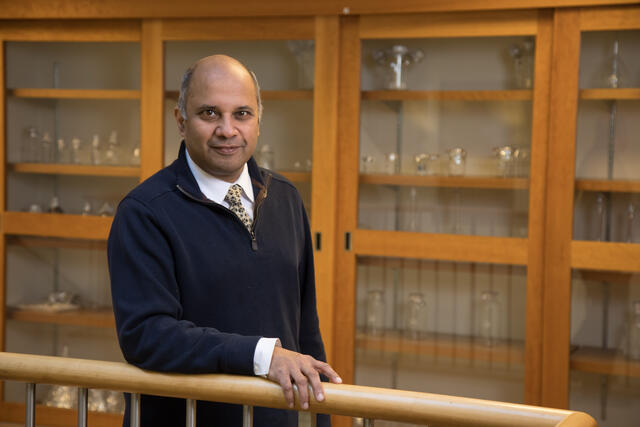 Rutgers Cancer Institute's principal investigator, Shridar Ganesan, MD, PhD