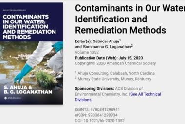 Contaminants in Our Water: Identification and Remediation Methods