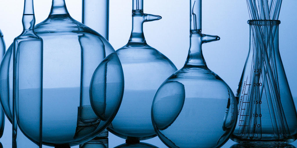 Chemistry glass containers