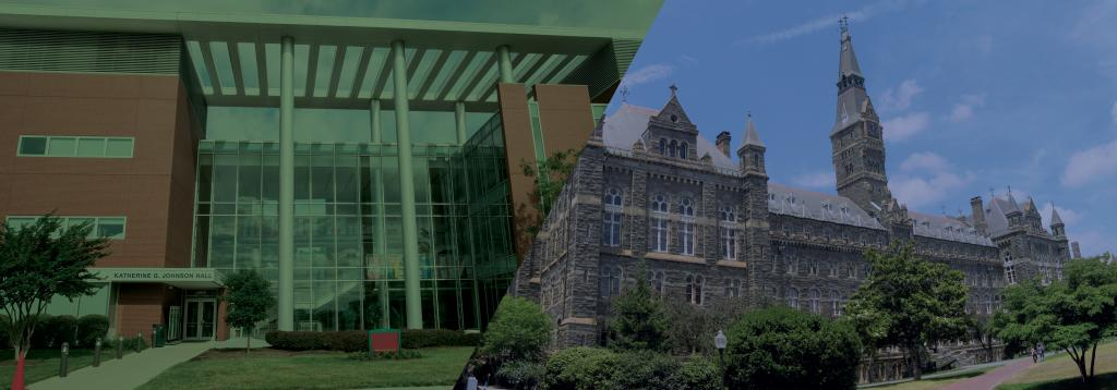 George Mason University and Georgetown campuses